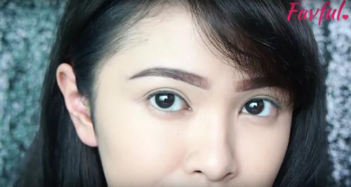 effa benefit brow tutorial